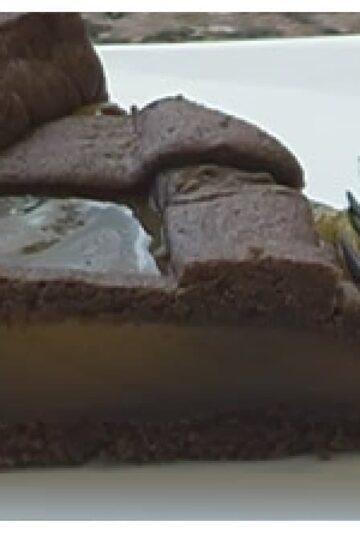 tarta de chocolate y dulce de batata ingredientes
