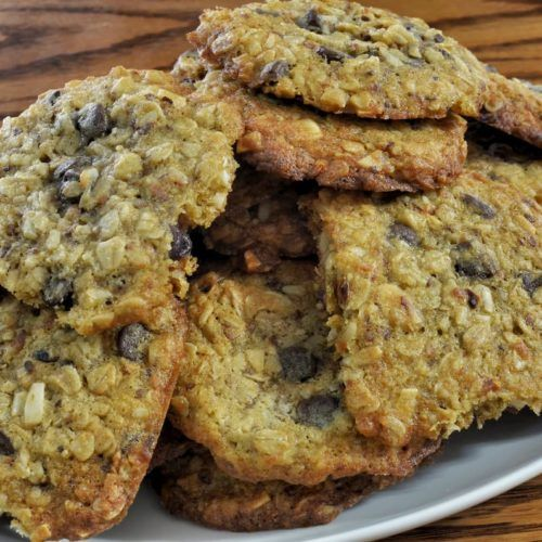 Cookies de avena ya terminadas