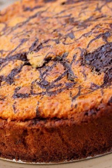 receta tarta queso chocolate