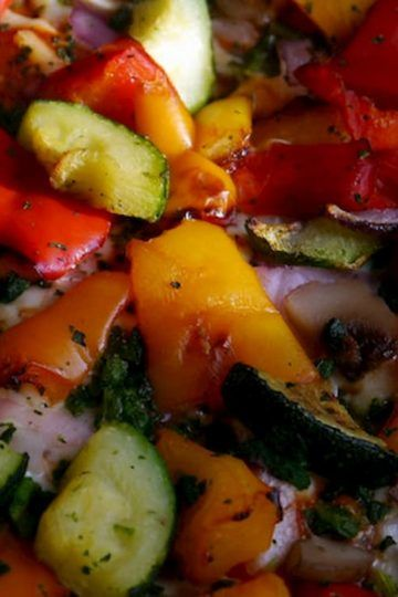 receta de Rattatuille de verduras