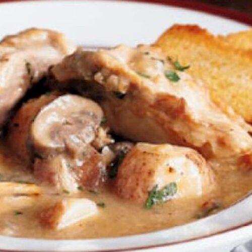 cazuela de pollo receta
