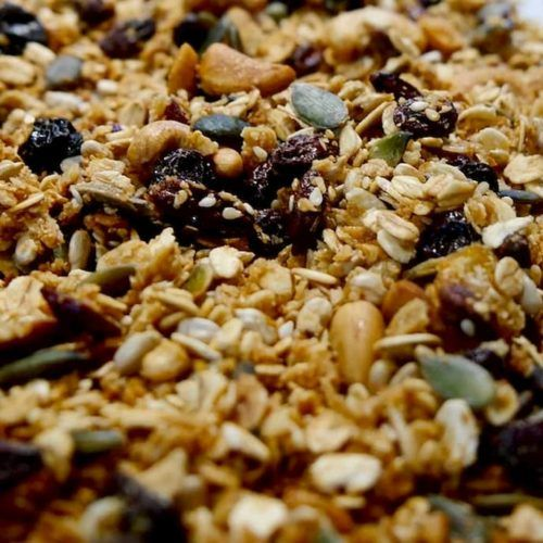 granola ingredienes