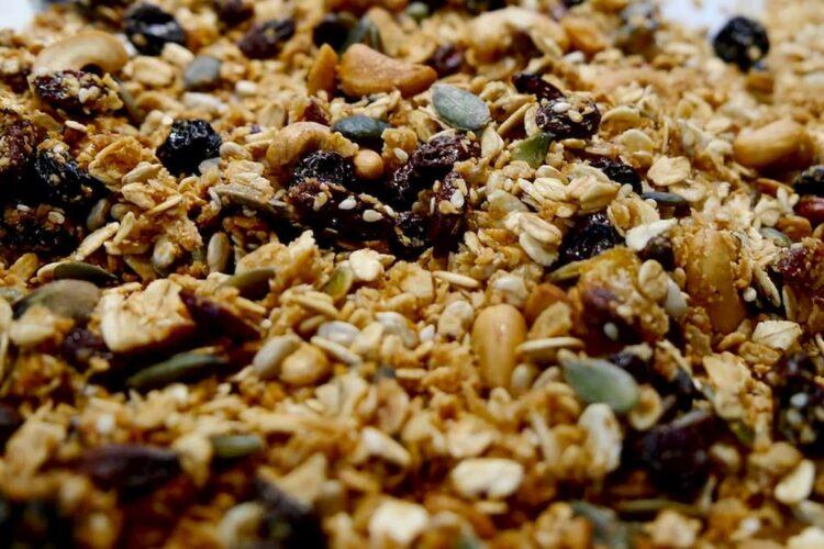 granola ingredienes