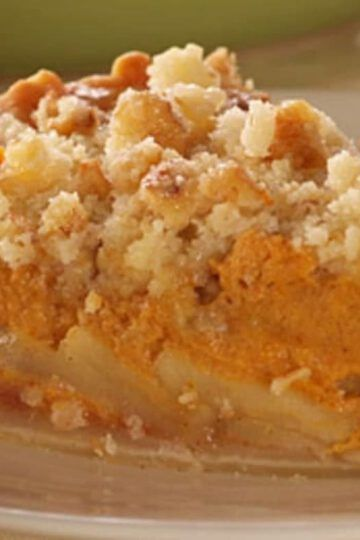 crujiente de manzana recetas