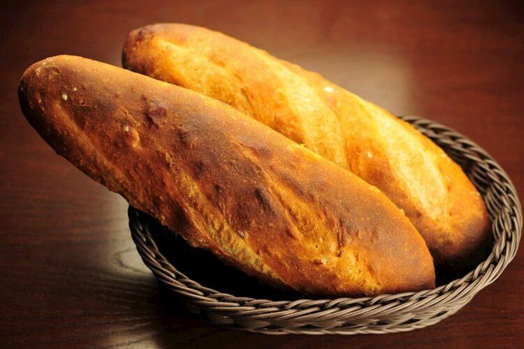 Pan francés terminado