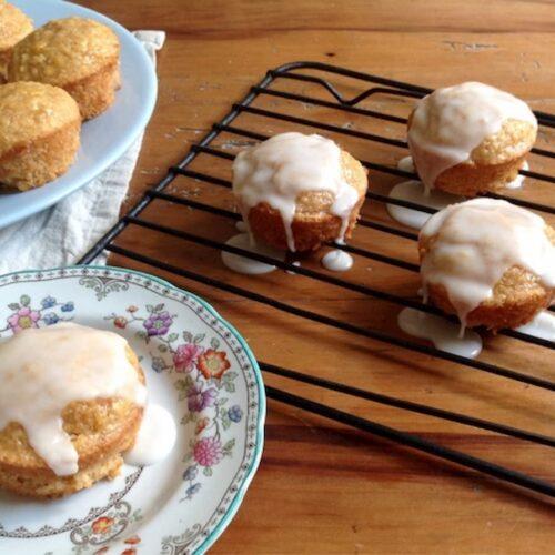muffins vegano mandarina