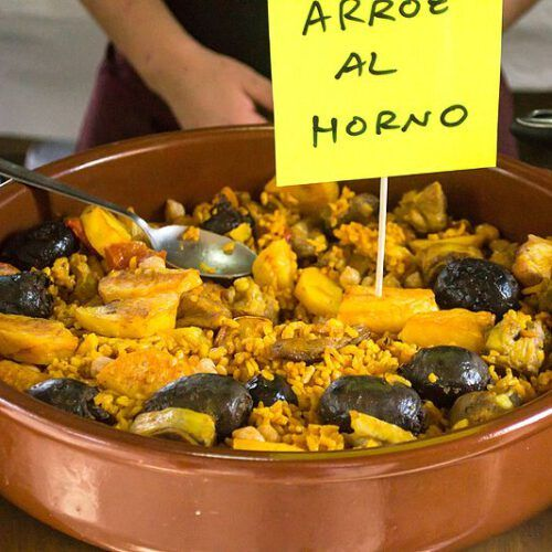 arroz al horno ingredientes