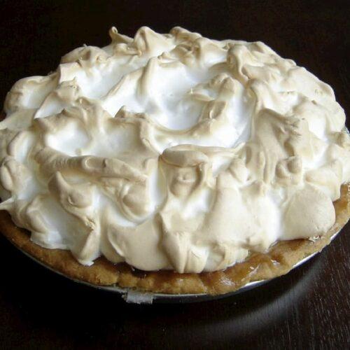 tarta de merengue receta