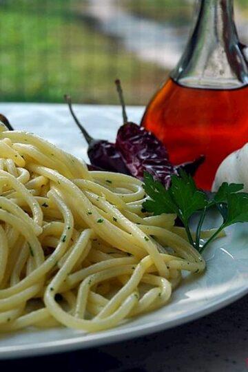 Spaghetti a la veneziana
